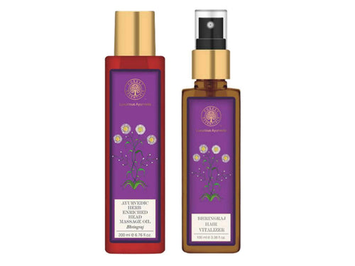 Forests Essential The Bhringraj Combo Pack- Hair Vitalizer & Head Massage Oil Available