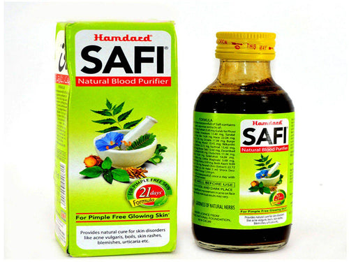 Brand New Safi Herbal Blood Purifier For Acne Blemishes Pimple Rashes - 100 Ml