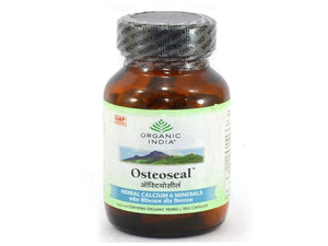 Organic India Osteoseal For Osteoporosis Increases Bone Mineral Density 60 Caps
