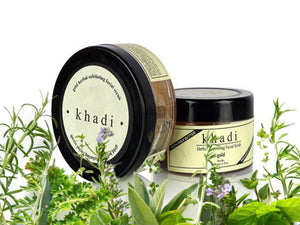 New Khadi Gold Herbal Exfoliating Facial Scrub With Shea Butter - 50gms