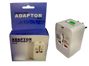 All-in-One International Travel Universal Adapter Plug - Surge Adaptor