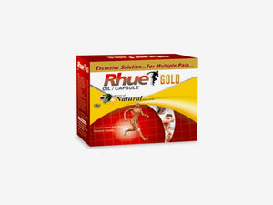Rhue Gold Oil With Capsule -Therapy Pack Power of Natural Herbs & Oil -  50ml
