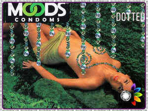 Brand New Moods Dotted Condoms - Give Extra Pleasure While Making Love
