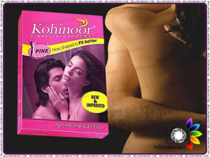 Pack Of 10 Kohinoor Condoms For Good & Indian Fit Size - Give A Pleasure