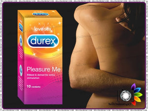 New Ribbed & Dotted 10 X Durex Pleasure Me Condoms With High Level Of Protection