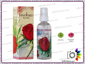 Moha Rose Mist Spray 100% Pure Natura