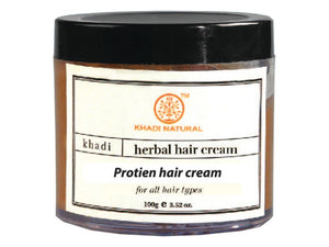 Khadi Protein Hair Cream With Wheatgerm Oil For Normal And Dry Hairs