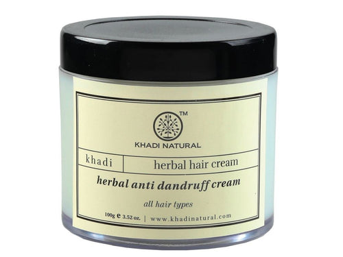 Natural Khadi Herbal  Anti Dandruff Herbal Cream Pack Of 100 Gms