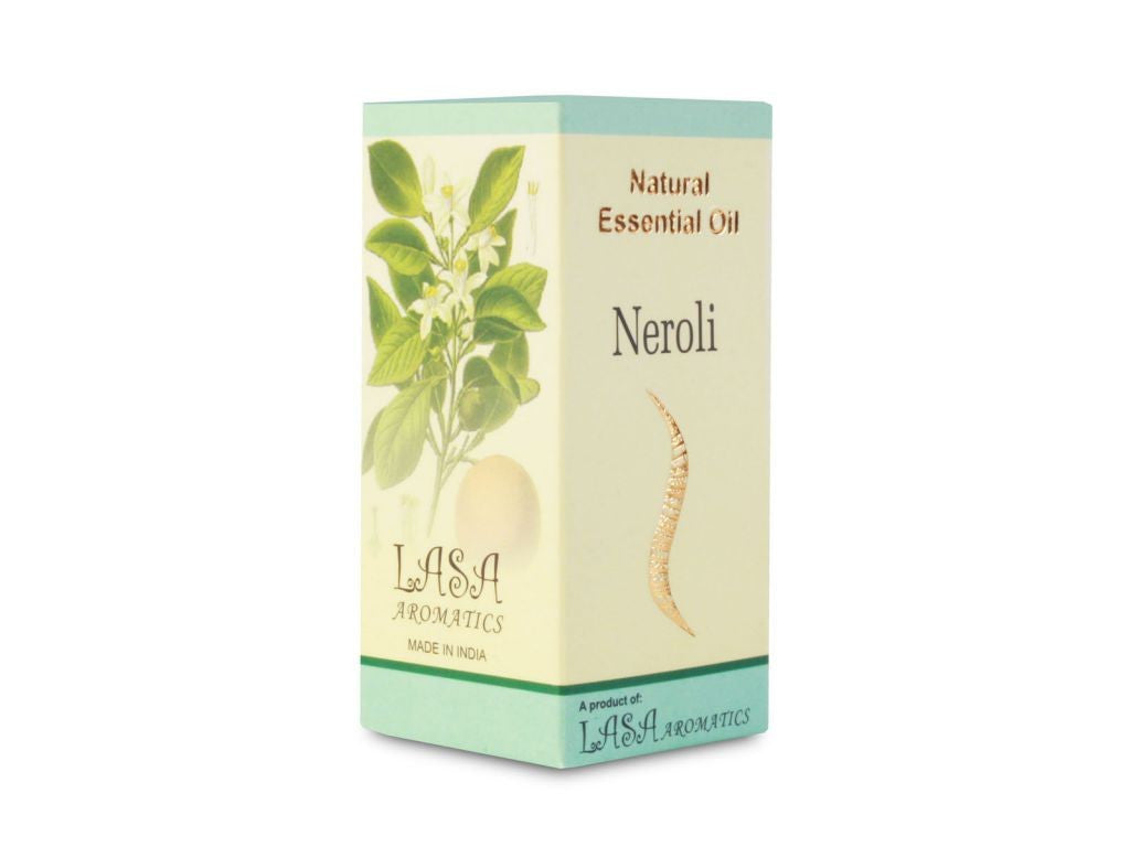 100% Pack Of 10 Ml Lasa Aromatics Neroli Essential Natural Oil