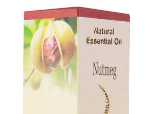 100% Pure Natural Lasa Aromatics Nutmeg Essential Oil - Pack of 10 Ml