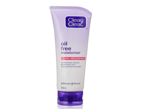 Clean & Clear Oil Free Moisturizer, 80ml For Pimples & Dry Skincare