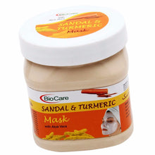 BioCare Face Mask Sandal & Turmeric 500ml For Softening & Smoothening, Skin