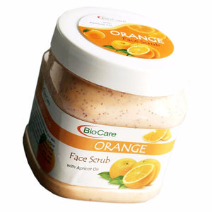 BioCare Orange Face Scrub With Apricot Oil 500ml