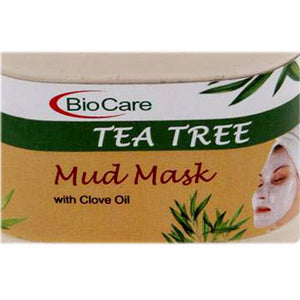 Biocare Tea Tree Mud Mask 500Gm For Skin Care