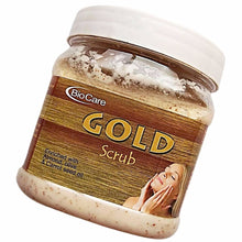 New Biocare Gold Scrub 500ml For Cleanses Skin