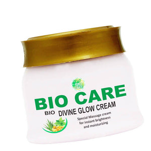 BIO CARE DIVINE GLOW CREAM-Leaves Skin Healthy And Glowing -500Gms