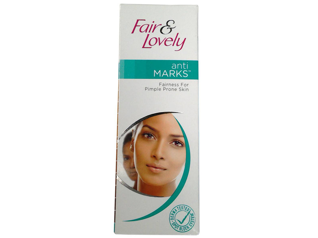 Fair & Lovely Anti Marks Fairness Cream -Reduced scars and dark spots-25 Gms