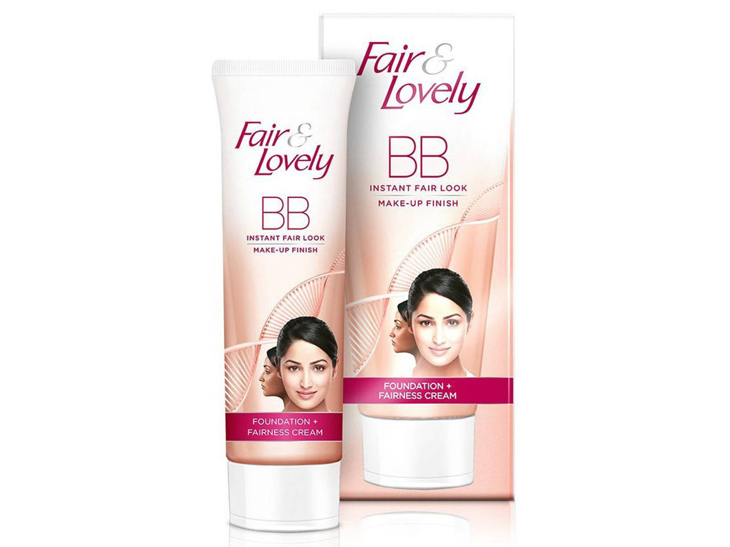 Fair & Lovely BB Cream - Instant Fair Look - Make-up Finish -18 Gms
