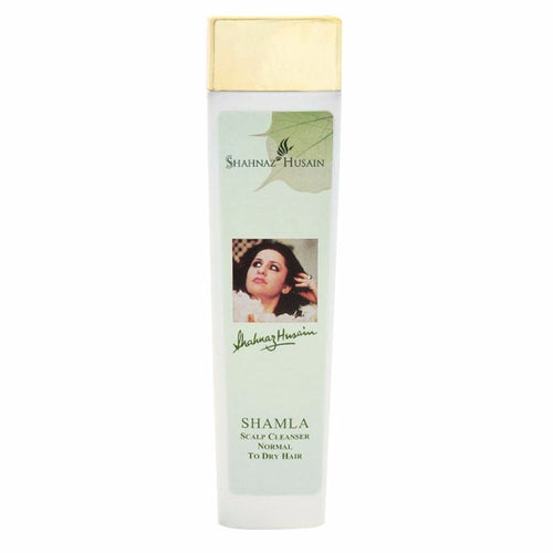 Shahnaz Husain Shamla Plus Hair Cleanser -Cleanses the scalp- 200 ml-Pure Herbal
