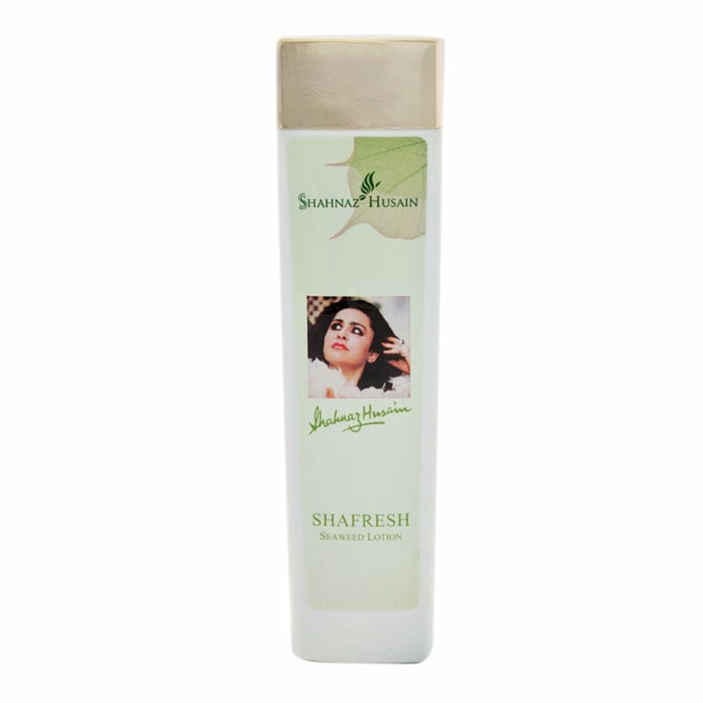 Shahnaz Husain Shafresh Plus Seaweed Lotion- 200 ML - Pure Herbal