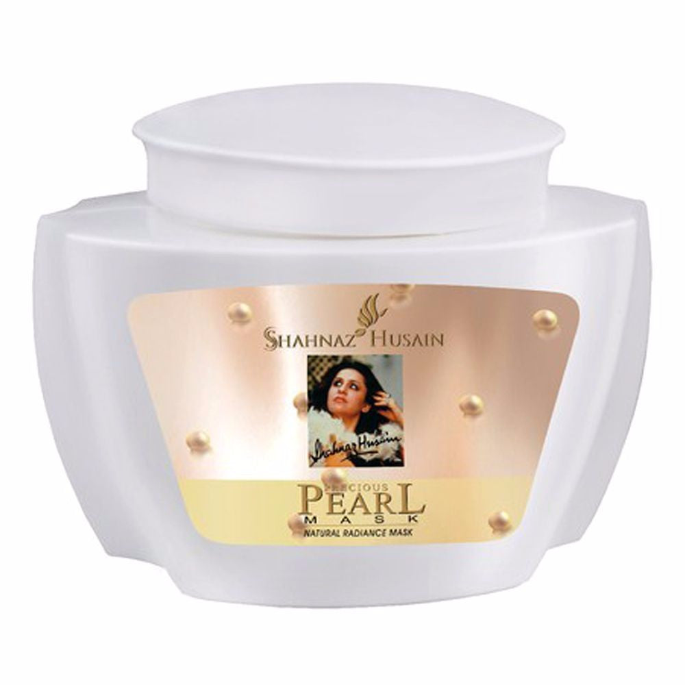 Shahnaz Husain Pearl Naturally Whitening Radiance Mask - 500GM