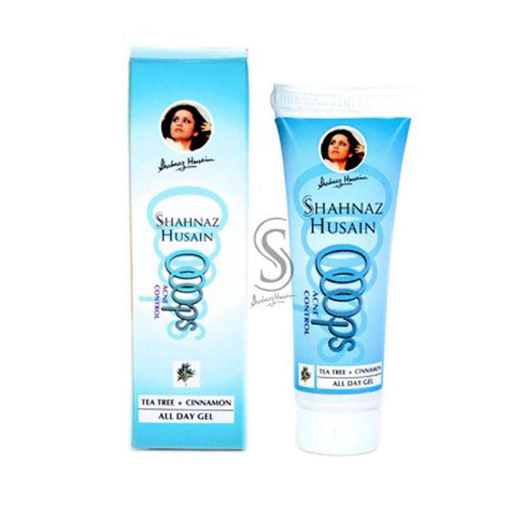 Shahnaz Husain Oops Acne Control All Day Gel - Rosemary Oil-25GMS