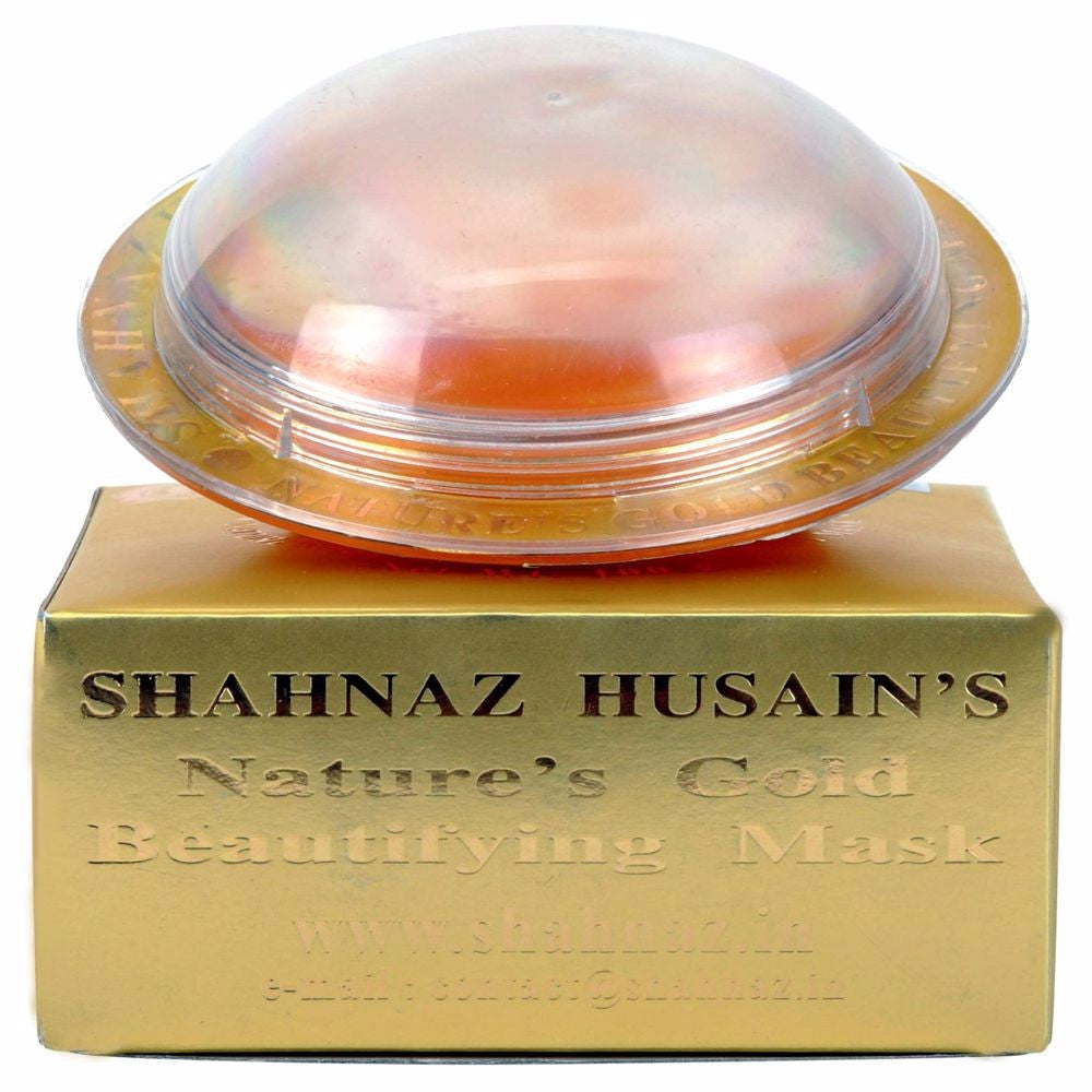 Shahnaz Husain Gold Beautifying Mask-Rejuvenates and nourishes-100GMS