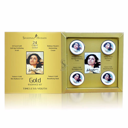 Shahnaz Husain Gold Skin Radiance Gel Gold Facial Kit (Mini)