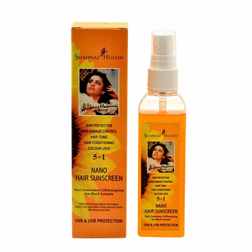 Shahnaz Husain Nano Hair Sunscreen - Sun-Protective Spray - 100ml