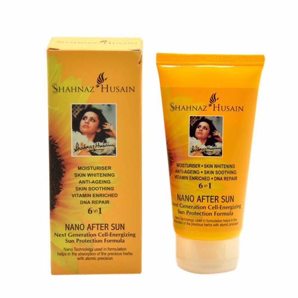 Shahnaz Husain Nano After Sun-leaving the skin soft, smooth - 80GMS