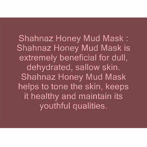Shahnaz Husain Honey Health Mud Mask-Gairika, Yashad Bhasm- 100Gms