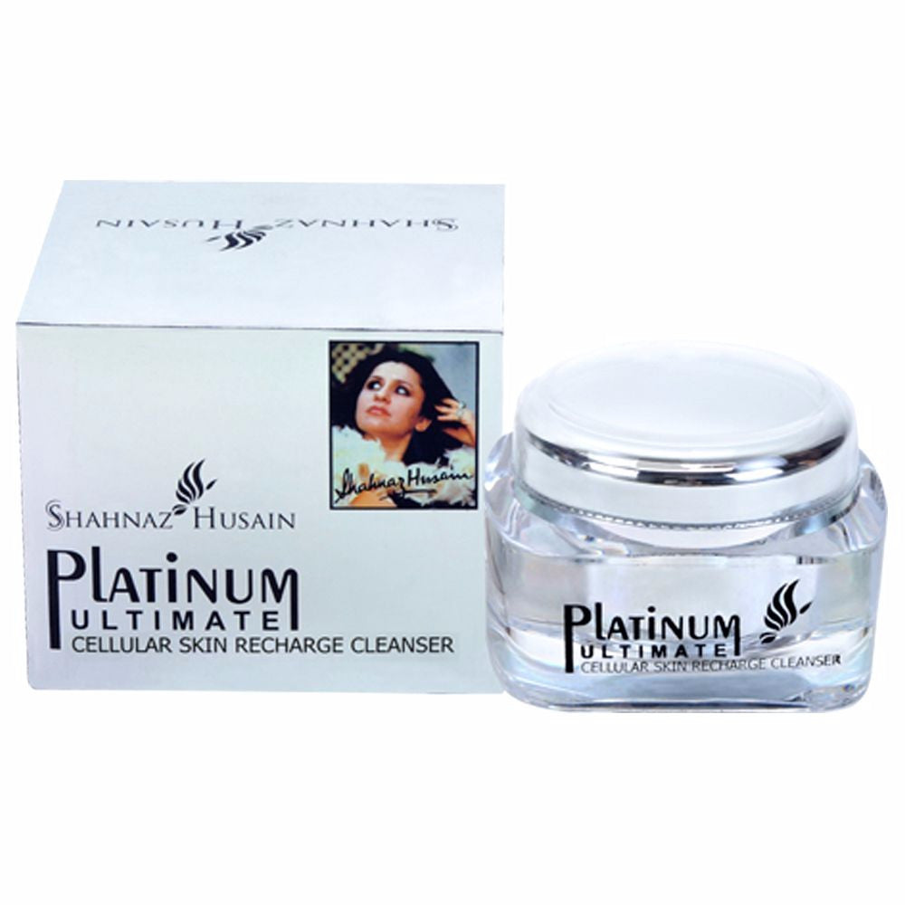 Shahnaz Husain Cellular Skin Recharge Cleanser 40GM - Pure Herbal