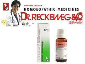 Reckeweg R21 Reconstituant Drops, Skin Disease Homeopathy Medicine