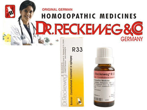 Dr Reckeweg Germany R33 Epilepsy Drops Homeopathic Medicine Twitching Muscles