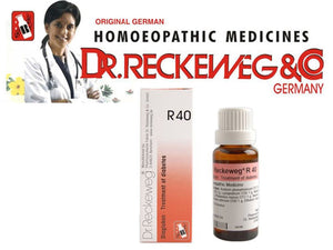 Dr Reckeweg Germany R40 Drops Homeopathic Medicine Control Blood Sugar 22ml