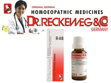 Dr Reckeweg Germany R48 Drop Homeopathic Medicine Pulmonary Respiratory Diseases