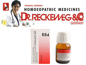 Dr Reckeweg Germany R84 Inhalent Allergy Drops Homeopathic Medicine 30ml
