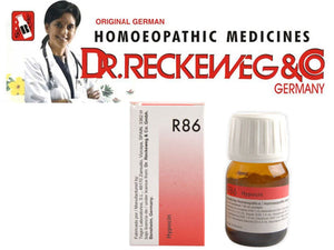 Dr Reckeweg Germany R86 Low Blood Sugar Drops Homeopathic Medicine 30ml