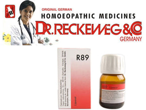 Germany R89 Dr. Reckeweg - Homeopathic Medicine - Hair Care Drops 30Ml