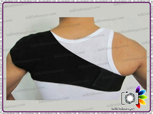 Self Heating Shoulder Brace Vest Wrap Heat Health Posture Support Pain Relief