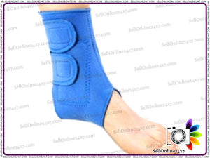 New Tourmaline Material Self Heating Ankle Wrap Strap Brace for Ankle Pain