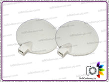 "2.5"" Round Carbon Electrodes For Physical Therapy Or Slimming Machines"