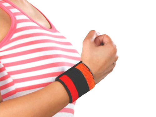 Flamingo Sports Wrist Band Helps To Ease Pain To Sports Injuries -Universal Size