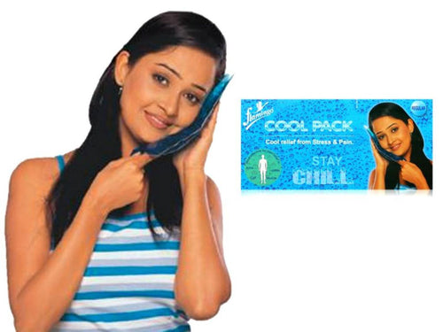 Long Duration Large Cool Pack For Stress,Pain,Body Ache-Retains Chill