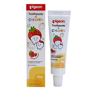 Pigeon Strawberry Flavoured Children Toothpaste - 45 Gms