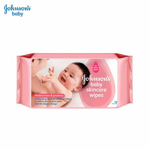 Johnson's Baby Skincare Wipes -10 Pieces Baby Care Skin Cleansing