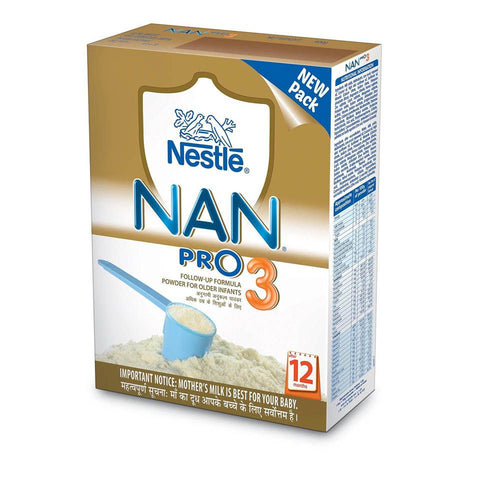 Nestlé Nan Pro 3 Follow up Infant Formula (12 - 18 Months) 400 Gms