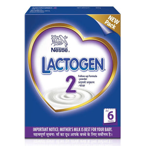 Nestlé LACTOGEN 2 Follow Up Infant Formula (6-12 Months) 400 Gms