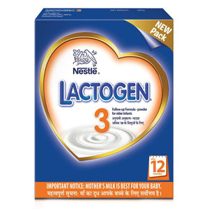 Nestlé LACTOGEN 3 Follow Up Infant Formula (after 12 Months) 400 Gms