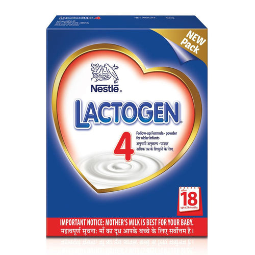 Nestlé LACTOGEN 4 Follow Up Infant Formula ( 18 -24Months) 400 Gms